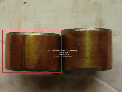 Втулка шкворня нижняя большая D=56, d=47, L=37 H2/H3 HOWO (ХОВО) WG1880410029 фото 1 Астрахань