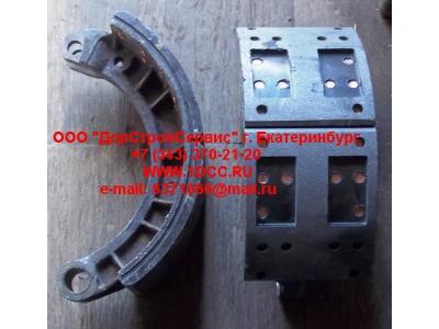 Колодка тормозная передняя с накладками в сборе (верхняя) C CAMC (КАМК) TZ3501010TSLA фото 1 Астрахань