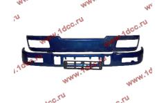 Бампер C синий верхний+нижний (в сборе) фото Астрахань