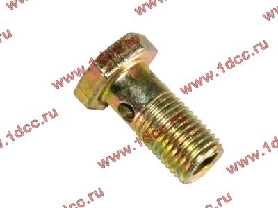 Болт пустотелый М12х1,25 (штуцер топливный) H HOWO (ХОВО) 90003962607 фото 1 Астрахань