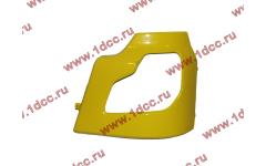 Бампер DF желтый самосвал боковой левый для самосвалов фото Астрахань