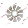 Вентилятор радиатора (на гидромуфту) без кольца d-590 H HOWO (ХОВО) 61500060131 фото 3 Астрахань