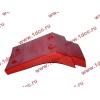 Брызговик передней оси правый H2 красный HOWO (ХОВО) WG1642230004 фото 4 Астрахань